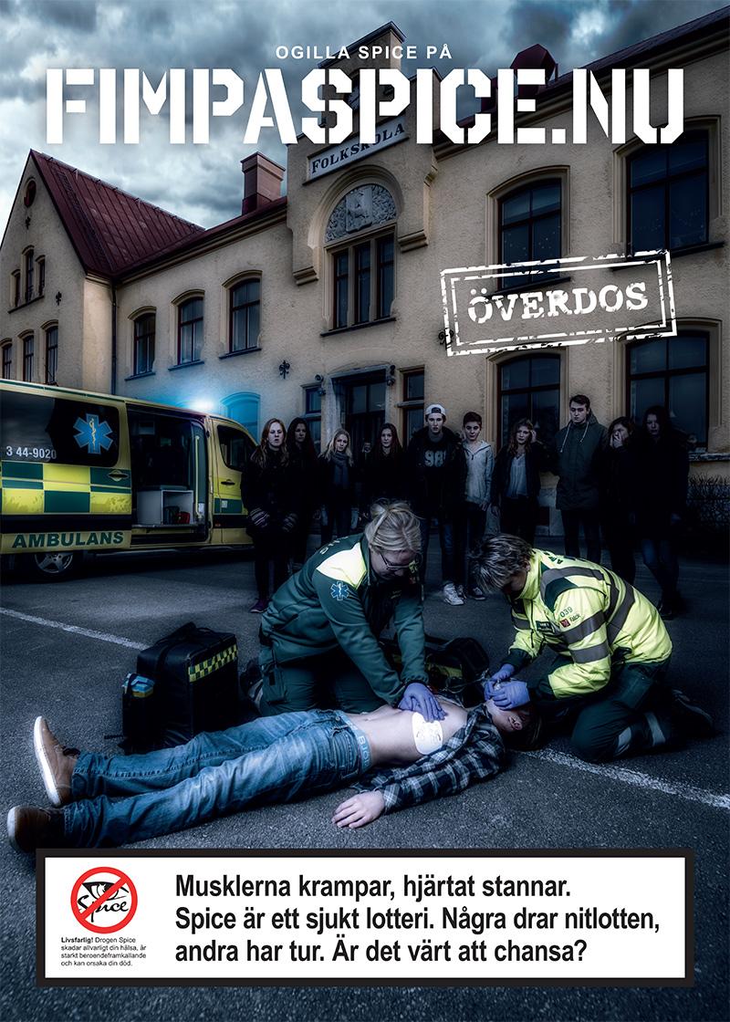 Affisch 1 Överdos